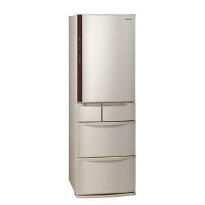 【無料長期保証】パナソニック NR-E414V-N 5ドア冷蔵庫(406L・右開き) シャンパン|yamada-denki