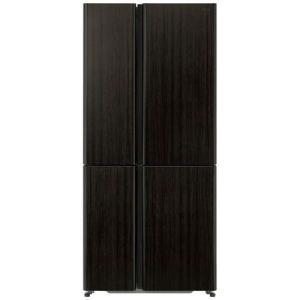 AQUA AQR-TZ51H-T 4ドア冷蔵庫 (512L・フレンチドア) ダークウッドブラウン