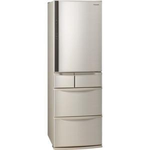 【無料長期保証】パナソニック NR-E416V-N 5ドア冷蔵庫(406L・右開き) シャンパンの画像