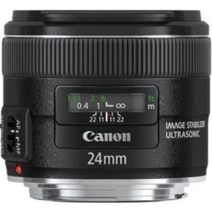 キヤノン EF2428IS 交換レンズ EF24mm F2.8 IS USM (キヤノンEFマウント...
