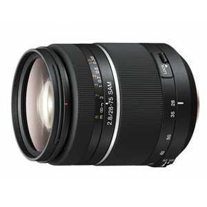 """デジタル一眼カメラ""""α""""用レンズ(28-75mm F2.8 SAM)"""