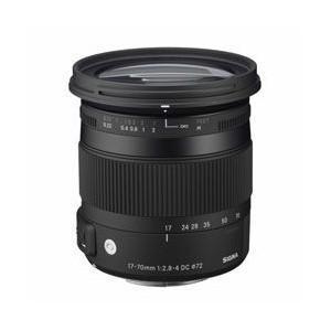 交換用レンズ 17-70mm F2.8-4 DC MACRO OS HSM ニコン用