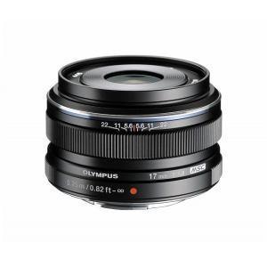 交換レンズ M.ZUIKO DIGITAL 17mm F1.8 ブラック<br>315