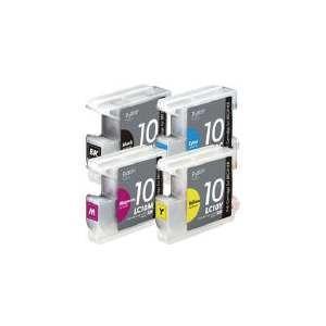プレジール  【互換】[ブラザー・LC104P対応] 互換インクカートリッジ (4色パック)<...
