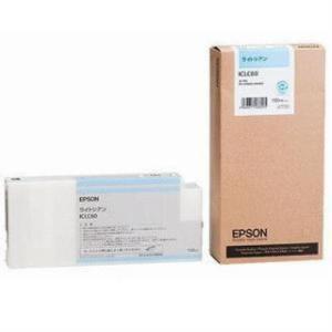 エプソン 純正インク ICLC60 インクカートリッジ ライトシアン<br>119