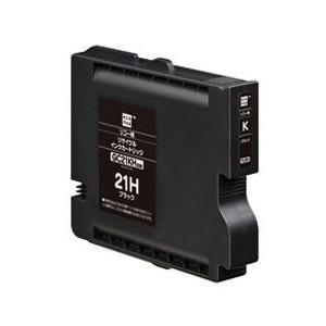 エコリカ ECI-RC21HB  リコー GC21KH対応 リサイクルインクカートリッジ ブラック&...