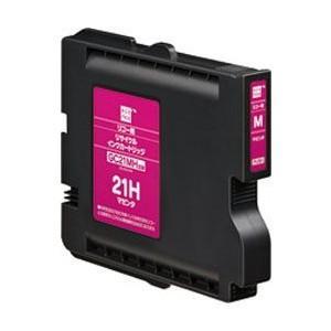 エコリカ ECI-RC21HM  リコー GC21MH対応 リサイクルインクカートリッジ マゼンタ&...