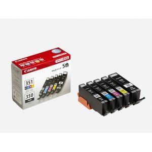 インク キヤノン 純正 カートリッジ インクカートリッジ BCI-351+350/5MP インクタンク 5色マルチパック インク|ヤマダデンキ PayPayモール店