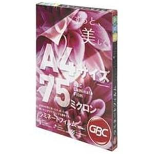 アコ・ブランズ・ジャパン LFMR075A4 ラミネートフィルム (75μ) A4サイズ 100枚入り|yamada-denki