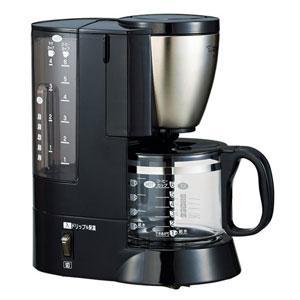 象印 EC-AS60-XB コーヒーメーカー 「珈琲通」 ステンレスブラック|yamada-denki