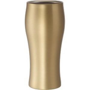 ドウシシャ DSB420GD 飲みごろビールタンブラー 420 ゴールド|yamada-denki