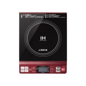 コイズミ KIH-1402/R  IHクッキングヒーター レッド|yamada-denki