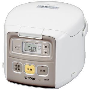 タイガー JAI-R551-W マイコン炊飯器 「炊きたて ミニ」 3.0合 ホワイト|yamada-denki