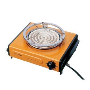 イズミ IEC105-D 電気コンロ オレンジ|yamada-denki