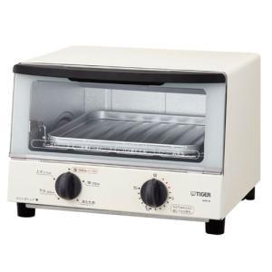 タイガー KAK-A100W オーブントースター 「やきたて」 ホワイト yamada-denki