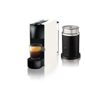 ネスプレッソ C30WH-A3B 専用カプセル式コーヒーメーカー 「エッセンサ・ミニ」  バンドルセット ピュアホワイト|yamada-denki