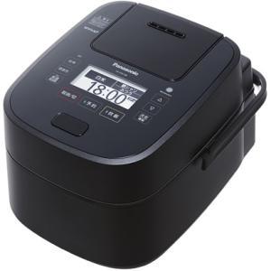 パナソニック SR-VSX108-K 可変圧力スチームIH炊飯ジャー 「Wおどり炊き」(5.5合) ブラック yamada-denki