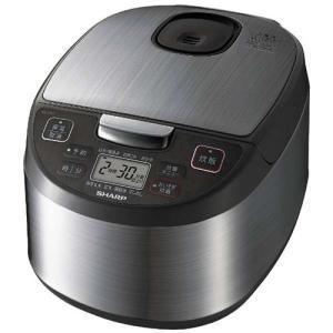 シャープ KS-S10J-S ジャー炊飯器(5.5合炊き) シルバー系