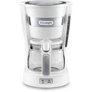 デロンギ ICM14011J-W ドリップコーヒーメーカー(5杯分)ホワイト