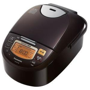 パナソニック SR-FD108-T IH炊飯器 5.5合炊き ブラウン|yamada-denki