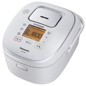 パナソニック SR-HX108-W IH炊飯器 5.5合炊き 大火力おどり炊き スノーホワイト|yamada-denki