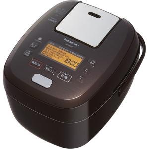 パナソニック SR-PA109-T 可変圧力IHジャー炊飯器 5.5合炊き ブラウン<br&g...