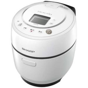 シャープ KN-HW10E-W 水なし自動調理鍋 HEALSIO 「ヘルシオ ホットクック」(1.0...