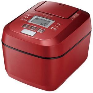 【無料長期保証】日立 RZ-V100DM R 圧力&スチームIHジャー炊飯器 ふっくら御膳 5.5合...