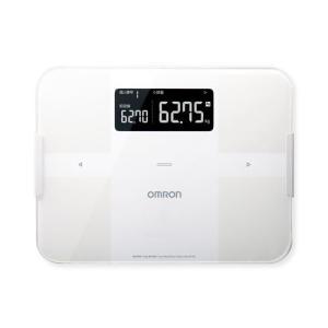 オムロン HBF-255T-W 体重体組成計 「カラダスキャン」 ホワイト<br>046