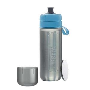 ブリタ BJGABLZ 浄水機能付き携帯ボトル 「fill&&go Active(フィルアンドゴー アクティブ)」 ブルー|yamada-denki