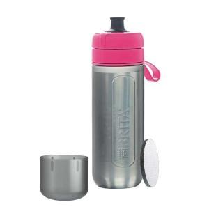 ブリタ BJGAPIZ 浄水機能付き携帯ボトル 「fill&&go Active(フィルアンドゴー アクティブ)」 ピンク|yamada-denki