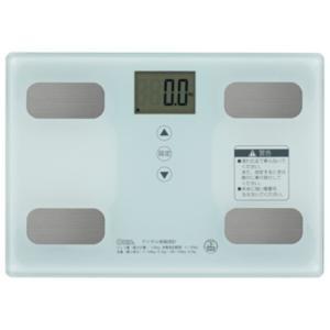 オーム電機 HB-KG11R1-W 体重体組成計 ホワイト<br>046