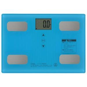 オーム電機 HB-KG11R2-A 体重体組成計 ブルー<br>046