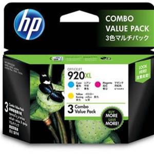 HP(ヒューレットパッカード) E5Y50AA 純正 HP920XL インクカートリッジ3色マルチパ...