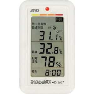 A&D みはりん坊W(乾燥指数・熱中症指数表示付温湿度計)|yamada-denki