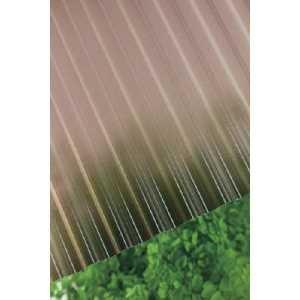 タキロン ポリカ波板熱線カット 32波 6尺 4810ブロンズ|yamada-denki