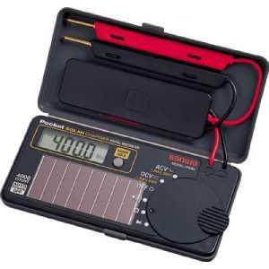SANWA ソーラー充電ポケット型デジタルマルチメータ|yamada-denki