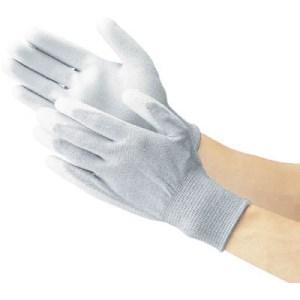 TRUSCO 手のひらコート静電気対策用手袋 Lサイズ