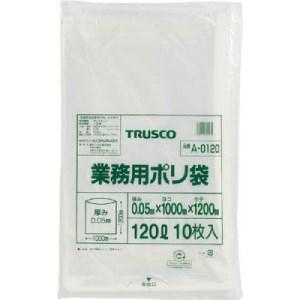 TRUSCO 業務用ポリ袋 厚み0.05X120L 10枚入|yamada-denki