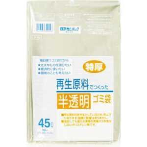 サニパック V49T再生原料使用雑色半透明45L 10枚入り|yamada-denki