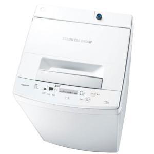東芝 AW-45M5-W 全自動洗濯機 (洗濯4.5kg)ピュアホワイト|yamada-denki