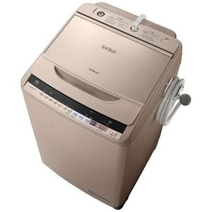 【無料長期保証】日立 BW-V100B-N 全自動洗濯機 (洗濯10.0kg) 「ビートウォッシュ」 シャンパン