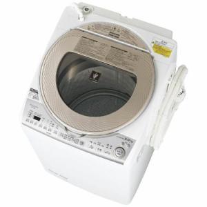 【無料長期保証】シャープ ES-TX8B-N 洗濯乾燥機 (洗濯8.0kg/乾燥4.5kg) ゴールド系 yamada-denki