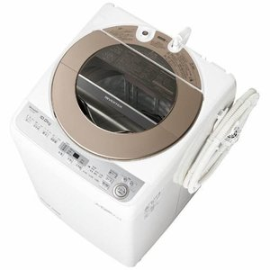 【無料長期保証】シャープ ES-GV10B-T 全自動洗濯機 (洗濯10.0kg) ブラウン系 yamada-denki