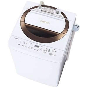 【無料長期保証】東芝 AW-6D6(T) 全自動洗濯機 (洗濯6.0kg) ブラウン|yamada-denki
