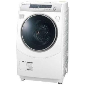 【無料長期保証】シャープ ES-H10B-WL ドラム式洗濯乾燥機 (洗濯10.0kg/乾燥6.0kg・左開き) ホワイト系|yamada-denki