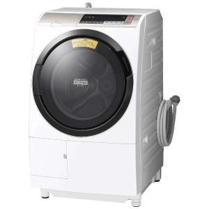 日立 BDSV110BR-N ドラム式洗濯乾燥機 (洗濯11.0kg/乾燥6.0kg・右開き) 「ヒートリサイクル 風アイロン ビッグドラム」 シャンパン yamada-denki