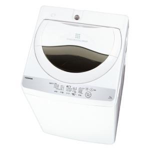 東芝 AW-5G6-W 全自動洗濯機 (洗濯5.0kg)グランホワイト|yamada-denki