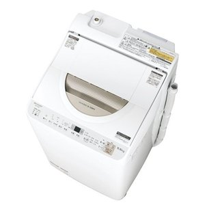 【無料長期保証】シャープ ES-TX5B-N 洗濯乾燥機 (洗濯5.5kg/乾燥3.5kg)ゴールド系 yamada-denki