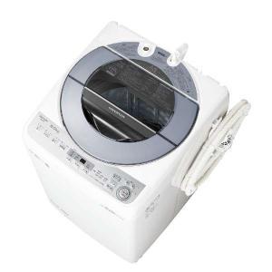 【無料長期保証】シャープ ES-GV8C-S 全自動洗濯機 (洗濯8.0kg) シルバー|yamada-denki